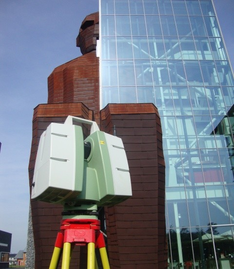 3D laserscanning museum Corpus Leiden